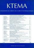 Dominique Beyer et Edmond Lévy - Ktèma N° 32/2007 : .