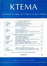 Edmond Frézouls et Edmond Lévy - Ktèma N° 8/1983 : .