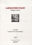 Jean-Louis Briquet et Marie-Claire Ponthoreau - Laboratoire italien N° 2-2001 : Magistrature et politique.