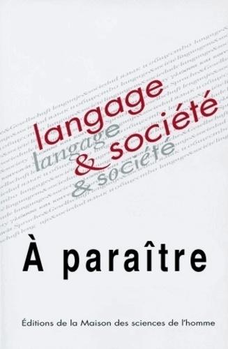 James Costa - Langage & société N° 145, 3e trimestre : Enjeux sociaux des mouvements de revitalisation linguistique.