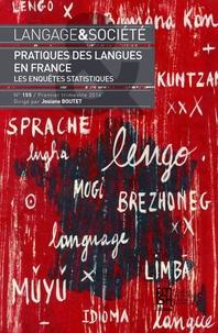 Josiane Boutet - Langage & société N° 155, 1er trimestr : Pratiques des langues en France - Les enquêtes statistiques.