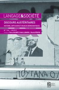 Thierry Guilbert et Frédéric Lebaron - Langage & société N° 166/2019/1 : Discours austéritaires - Histoire, diffusion et enjeux démocratiques.