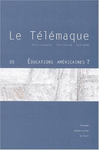 Alain Vergnioux - Le Télémaque N° 20 : Educations américaines.