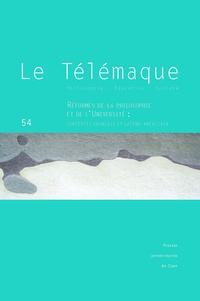 Brigitte Frelat-Kahn - Le Télémaque N° 54/2018 : Réformes de la philosophie et de l'université - Contextes français et latino-américain.