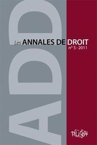 Les Annales de droit N° 5/2011.pdf