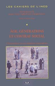 Jacques Véron et Sophie Pennec - Les cahiers de l'INED N° 153 : Age, générations et contrat social - L'Etat-providence face aux changements démographiques.