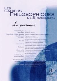 Les Cahiers Philosophiques de Strasbourg N° 31, premier semes.pdf