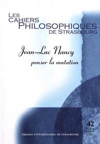 Les Cahiers Philosophiques de Strasbourg N° 42, second semest.pdf