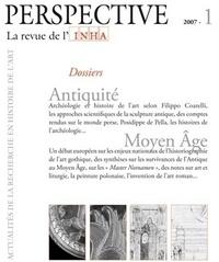 Filippo Coarelli et Philippe Jockey - Perspective N° 1/2007 : Antiquité-Moyen Age.