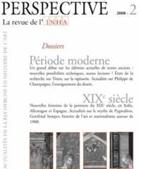 Michael Ann Holly - Perspective N° 2/2008 : Période moderne - XIXe siècle.