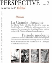 Olivier Bonfait - Perspective N° 6/2007 : La Grande-Bretagne ; Période moderne.