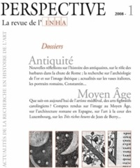 Alain Schnapp - Perspectives N° 1/2008 : Antiquité, Moyen Age.
