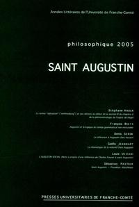 Stéphane Haber et Gaëlle Jeanmart - Philosophique 2005 : Saint Augustin.