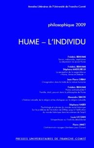 Frédéric Brahami - Philosophique 2009 : Hume - L'individu.