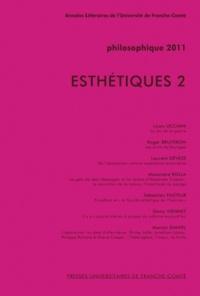 Louis Ucciani - Philosophique 2011 : Esthétiques - Tome 2.