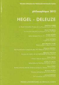 Louis Ucciani et Stéphane Haber - Philosophique 2012 : Hegel - Deleuze.