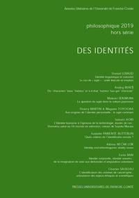 Daniel Lebaud et Thierry Martin - Philosophique Hors-série - 2019 : Des identités.