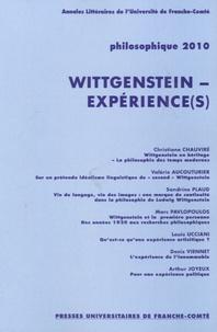 Christiane Chauviré et Valérie Aucouturier - Philosophique N° 862 : Wittgenstein - expérience(s).