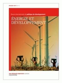Gilles Carbonnier - POLDEV N° 2/2011 : Energie et développement.