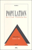 Marwan Khawaja et Jacques Véron - Population Volume 58 N° 3 mai-j : .