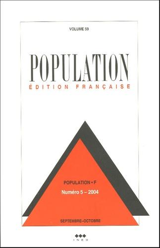 Ined - Population Volume 59 N° 5, Sept : La conjoncture démographique en France.