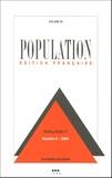 Alexandre Avdeev et Alain Blum - Population Volume 59 N° 6, Nove : .