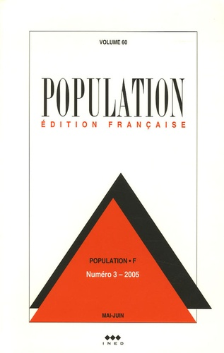 Ined - Population Volume 60 N° 3, Mai- : .