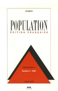 M Prioux et Marijke Verpoorten - Population Volume 60 N° 4, Juil : .