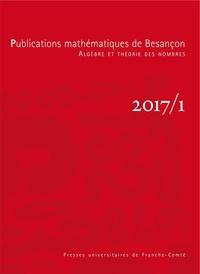 Christophe Delaunay - Publications mathématiques de Besançon N° 2017/1 : .