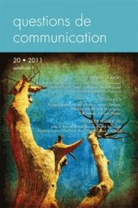 Marie-Laure Florea et Alain Rabatel - Questions de communication N° 20/2011 : Evoquer la mort.