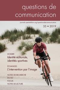 Valérie Bonnet et Christine Menneson - Questions de communication N° 35/2019 : Identité éditoriale, identités sportives.
