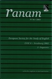 Pierre Frath et Albert Hamm - Ranam N° 36-2/2003 : European Society for the Study of English - ESSES 6 - Strasbourg 2002 - 2 - linguistics.