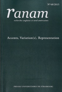 Maryvonne Boisseau - Ranam N° 48/2015 : Accents, variation(s), representations.