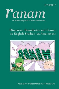 Jean-Jacques Chardin - Ranam N° 50/2017 : Discourse, boundaries and genres in english studies.