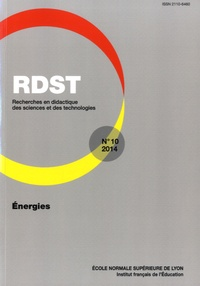 Christian Buty et Ludovic Morge - RDST N° 10-2014 : Energies.