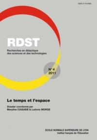 Maryline Coquidé et Ludovic Morge - RDST N° 4-2011 : Le temps et l'espace.
