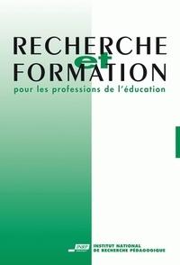 Annette Gonnin-Bolo et  Collectif - Recherche et formation N° 40-2002 : Les savoirs entre pratique, formation et recherche.