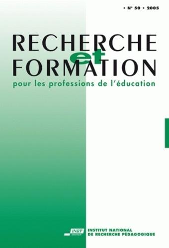 Anonyme - Recherche et formation N° 50/2005 : .