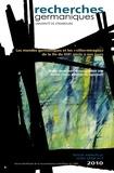 """Aurélie Choné et Catherine Repussard - Recherches germaniques Hors-série N° 7/2010 : Les mondes germaniques et les """"villes-mirages"""" de la fin du XIXe siècle à nos jours."""