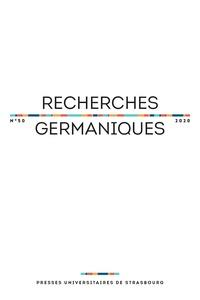 Aurélie Choné et Catherine Repussard - Recherches germaniques N° 50/2020 : .