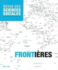 Pascal Hintermeyer et Philippe Hamman - Revue des Sciences Sociales N° 48/2012 : Frontières.