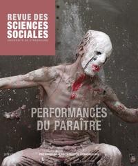 Eva Carpigo - Revue des Sciences Sociales N° 59/2018 : Performances du paraître.