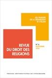 Francis Messner et Candice Bordes - Revue du droit des religions N° 6/2018 : Les valeurs de la République et l'Islam.