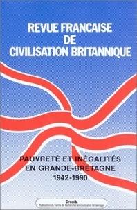 CRECIB - Revue française de civilisation britannique Volume 11 N° 1, nove : Pauvreté et inégalités en Grande-Bretagne, 1942-1980.