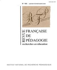 Serge Calabre - Revue française de pédagogie N° 166, 2009 : .