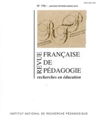 Laurent Cosnefroy et Pierre Merle - Revue française de pédagogie N° 170, janvier-févr : .