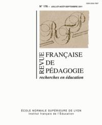 Laurent Cosnefroy et Jean-Yves Rochex - Revue française de pédagogie N° 176, Juillet-août : .