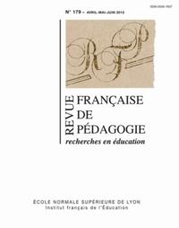 Olivier Faron - Revue française de pédagogie N° 179, Avril-mai-ju : .