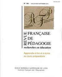 Revue française de pédagogie N° 196/2016.pdf