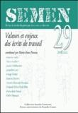Marie-Anne Paveau - Semen N° 29, Avril 2010 : La théorie du discours - Fragments d'histoire et de critique.